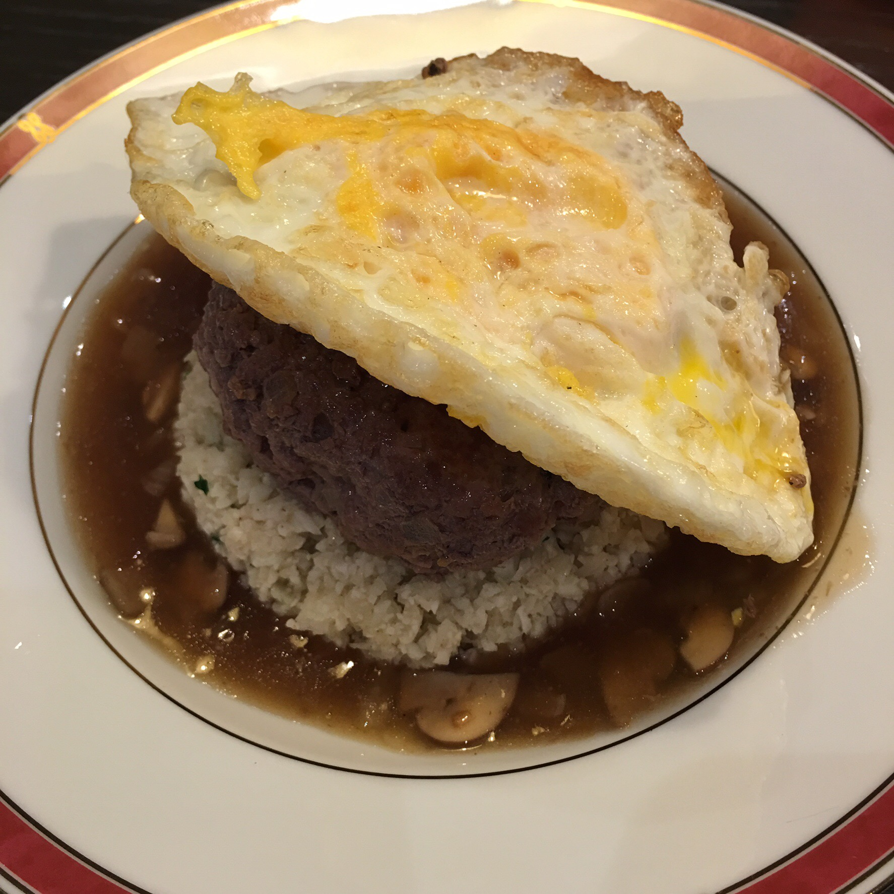 Low Carb Loco Moco Still Feeling Peckish