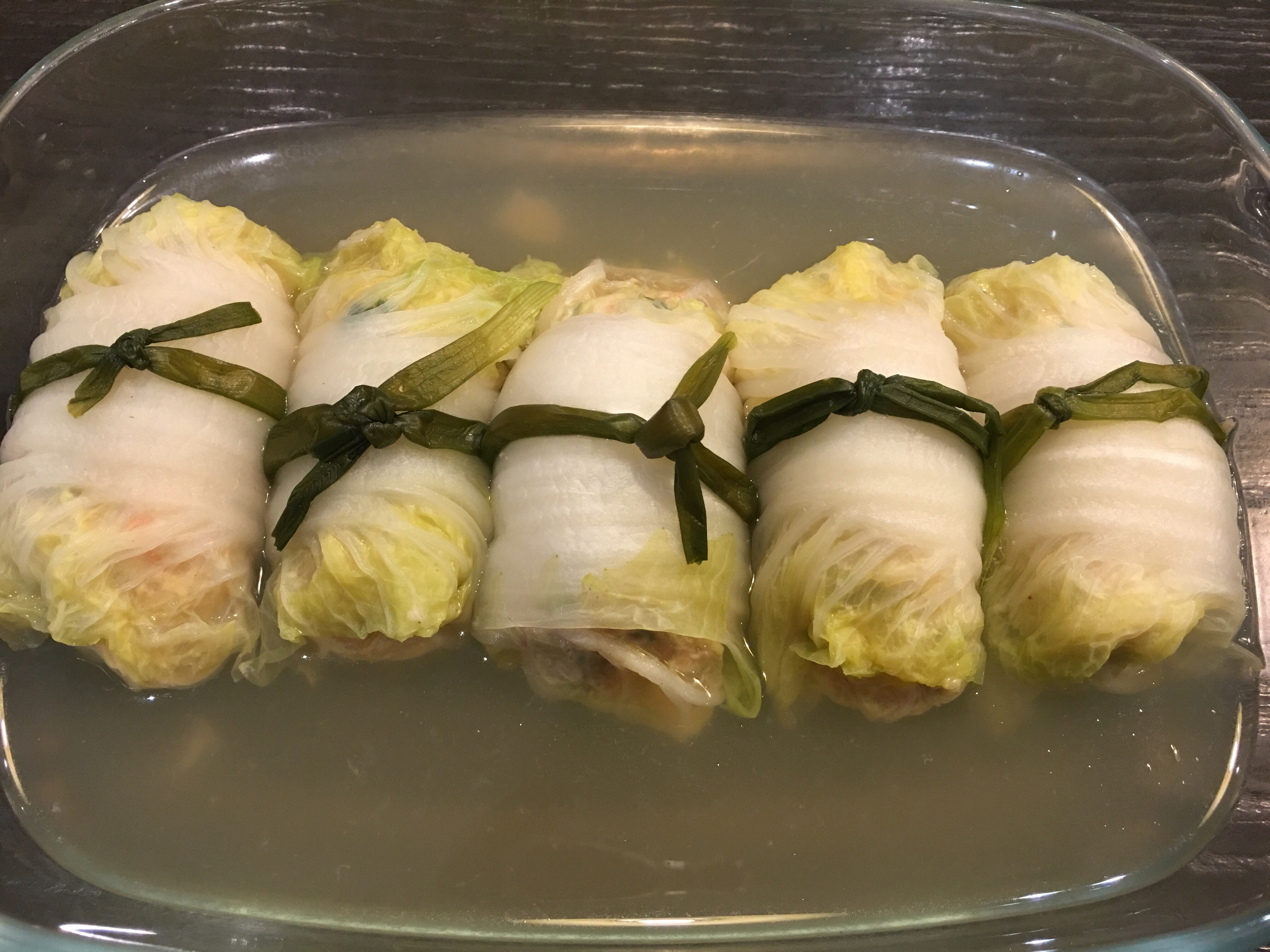 Asian cabbage rools