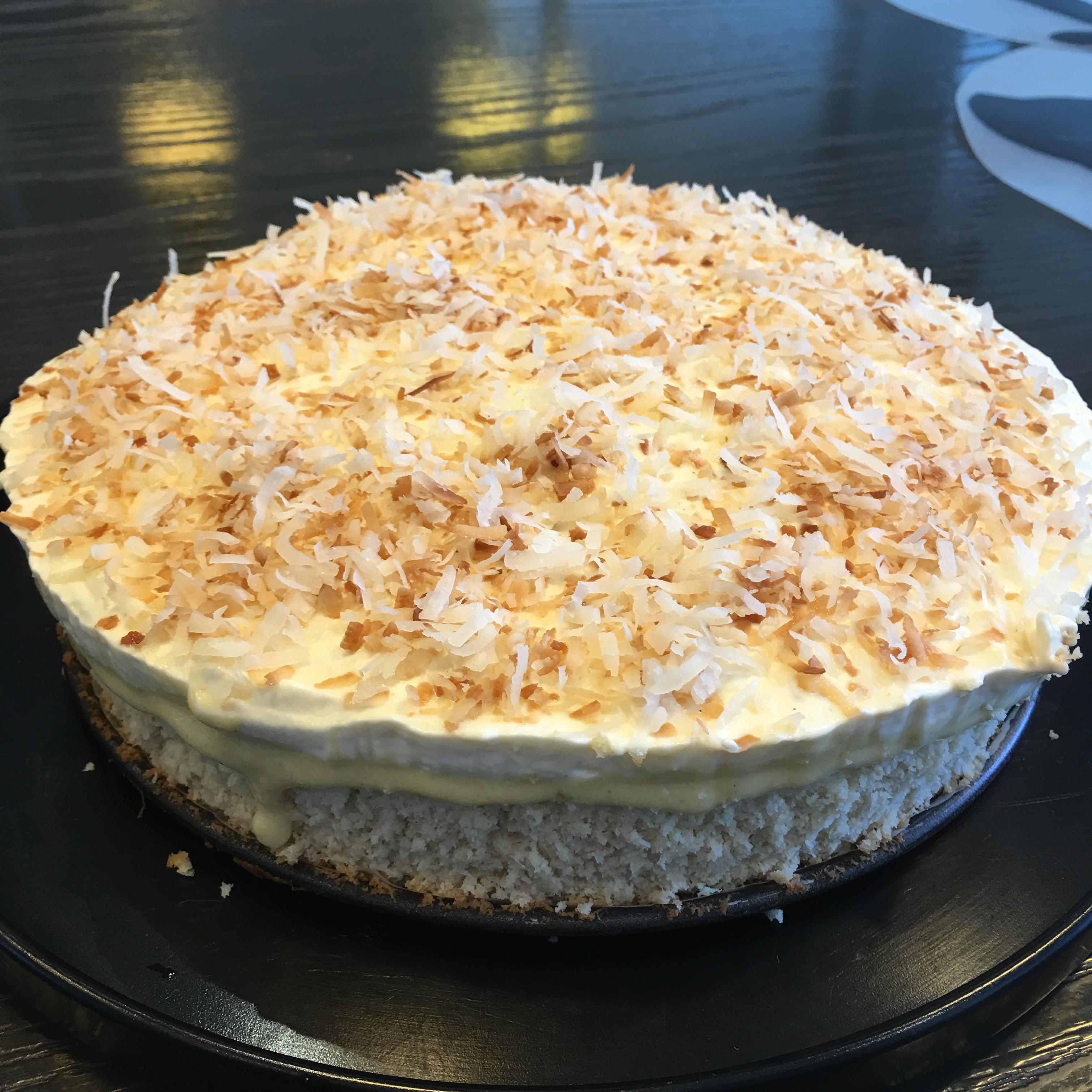 Coconut Cream Birthday Cake Still Feeling Peckish