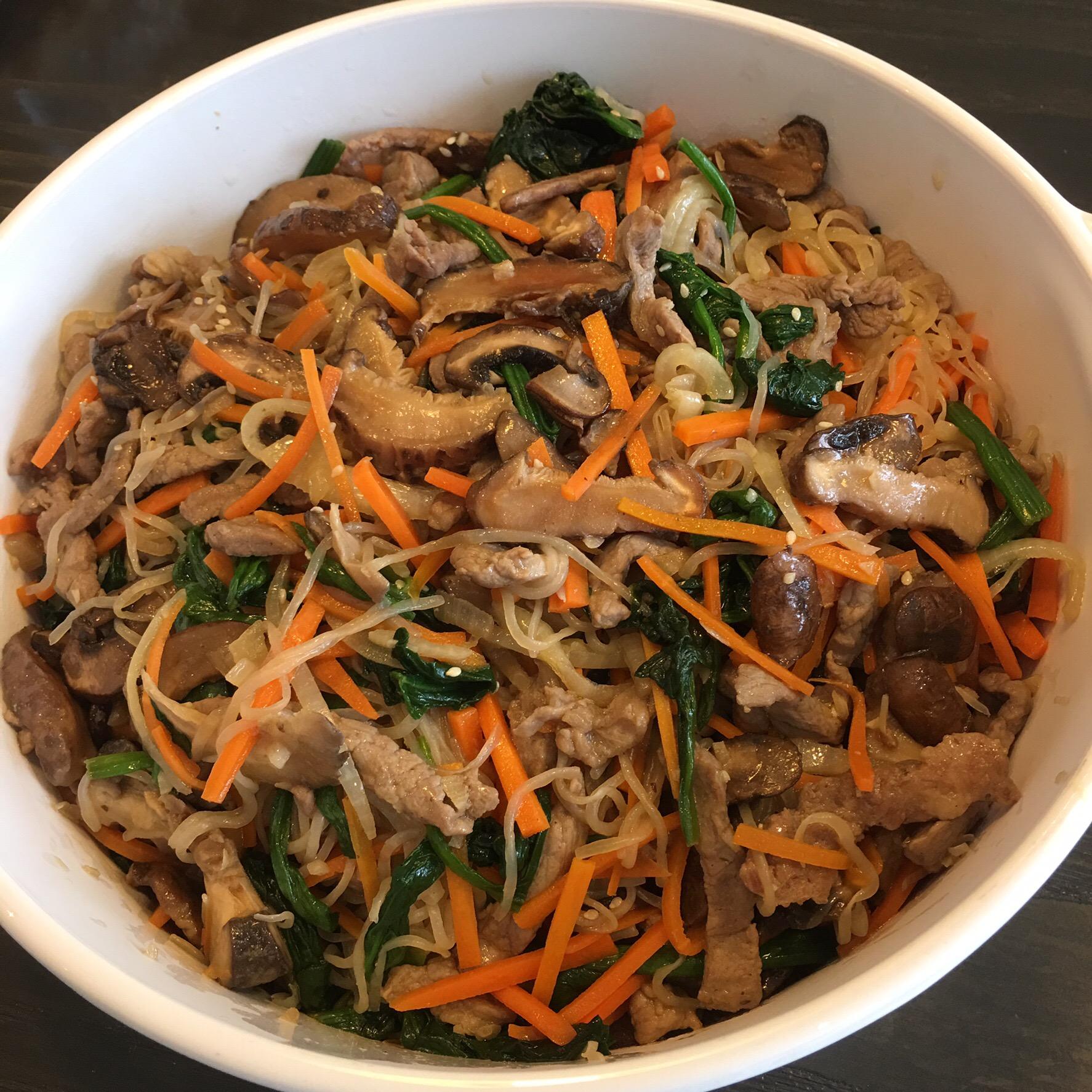 japchae recipe low carb Low Carb Korean Japchae