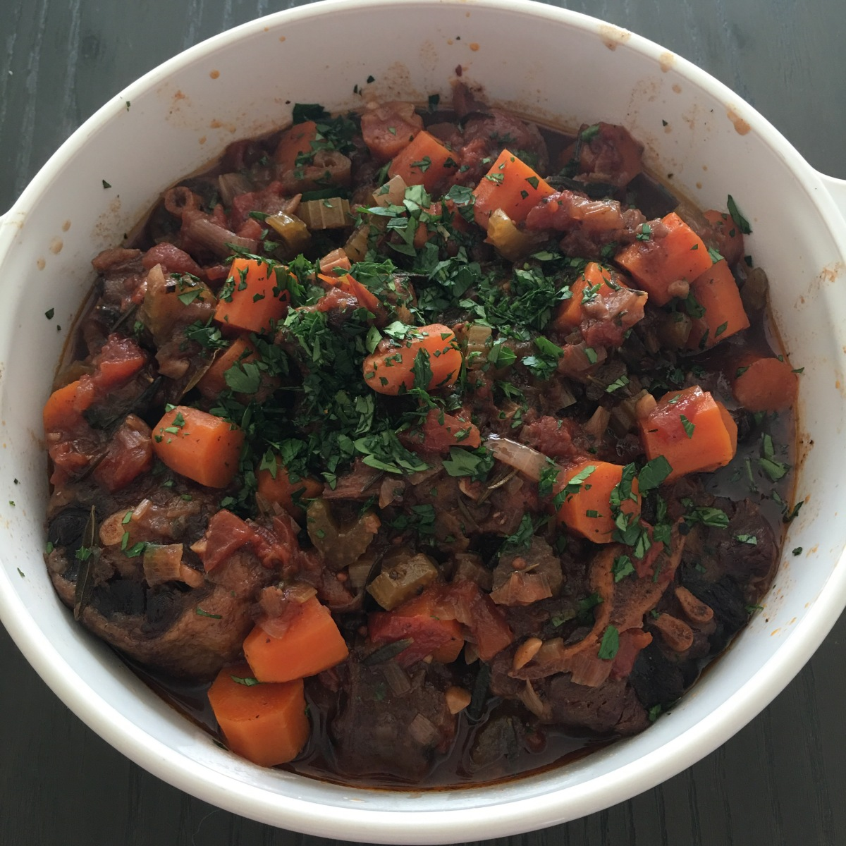 Instant Pot Oxtail Stew