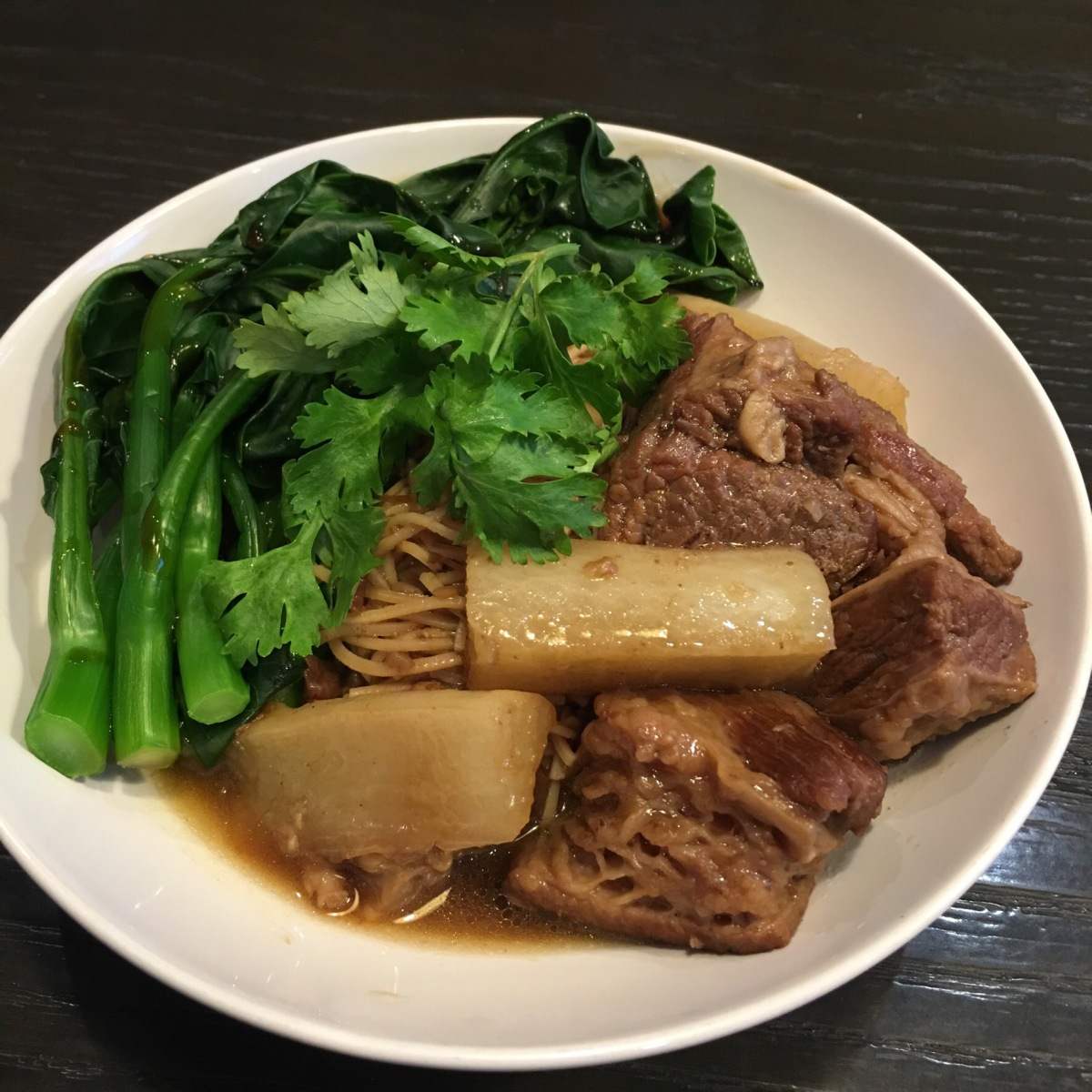 Low Carb Cantonese Braised Beef Brisket Noodles