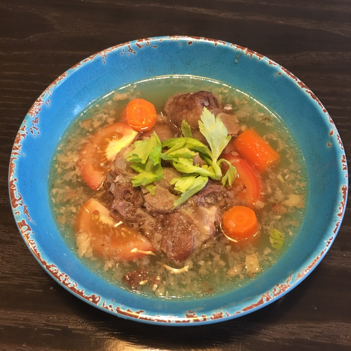 Instant Pot Sup Buntut (Indonesian Oxtail Soup)