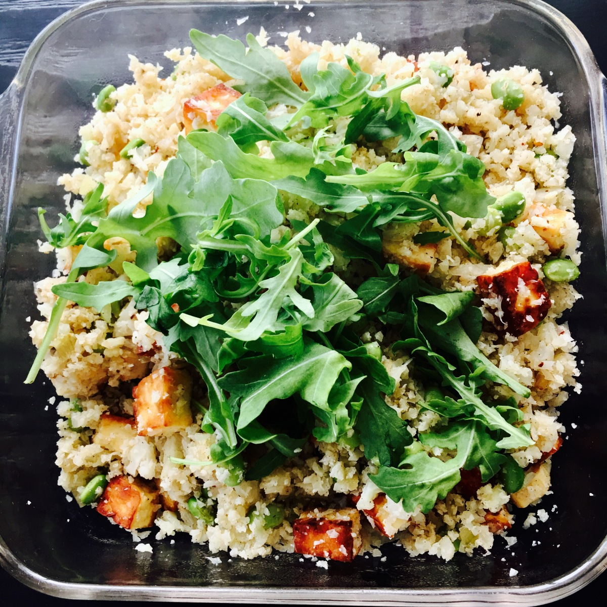 15 Minutes Healthy Cauliflower Rice
