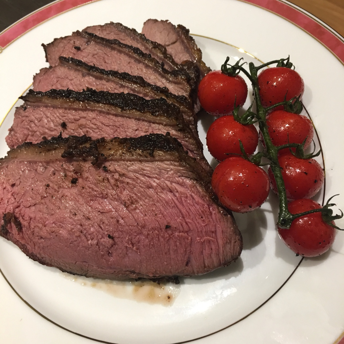Reverse-Seared Picanha Beef